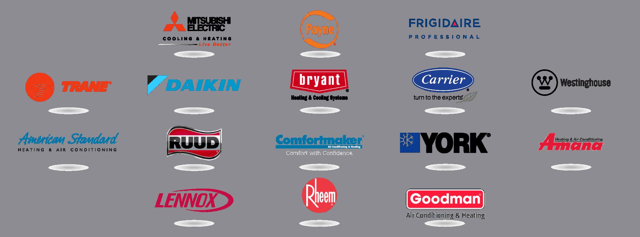 We service all HVAC brands.