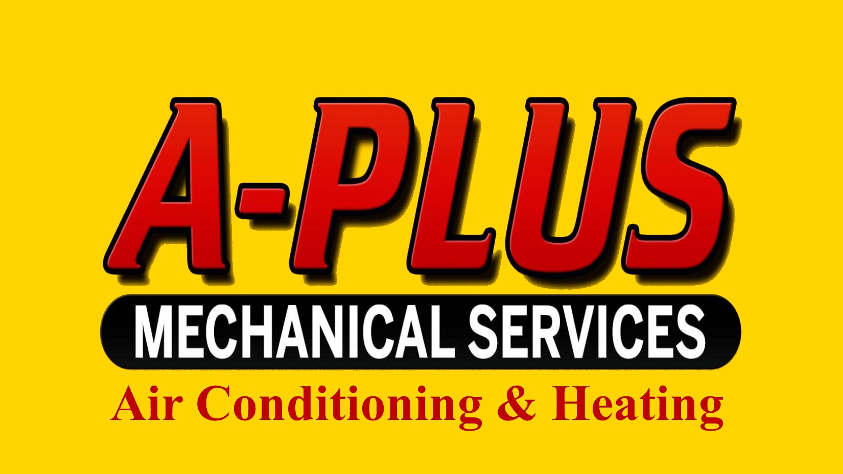 A Plus Mechanical logo.